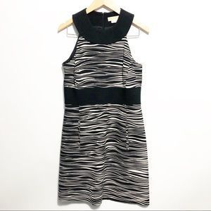 Michael Kors Zebra Halter Dress Made in Italy 10